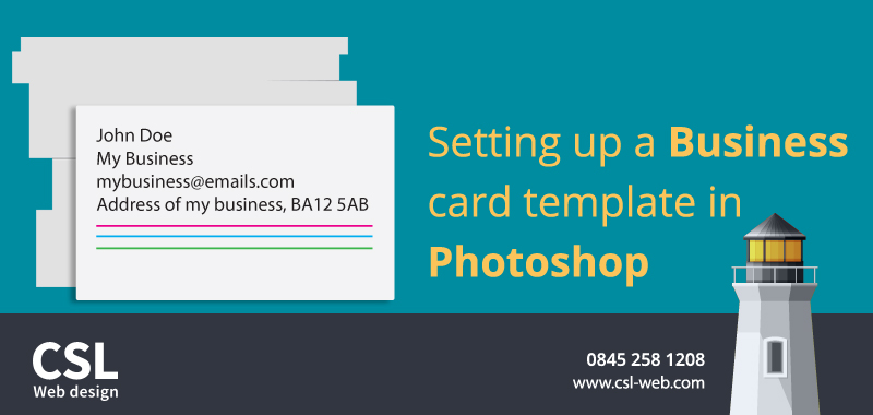 How to setup a business card print template in photoshop csl how to setup a business card print template in photoshop fbccfo