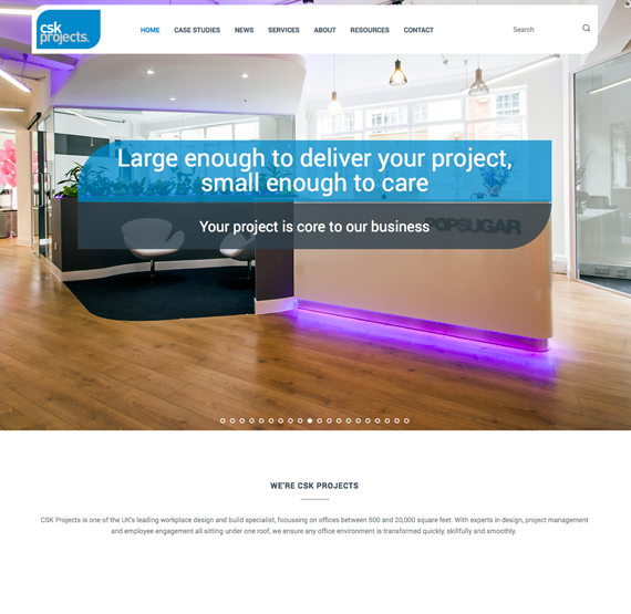 cskprojects web design 1